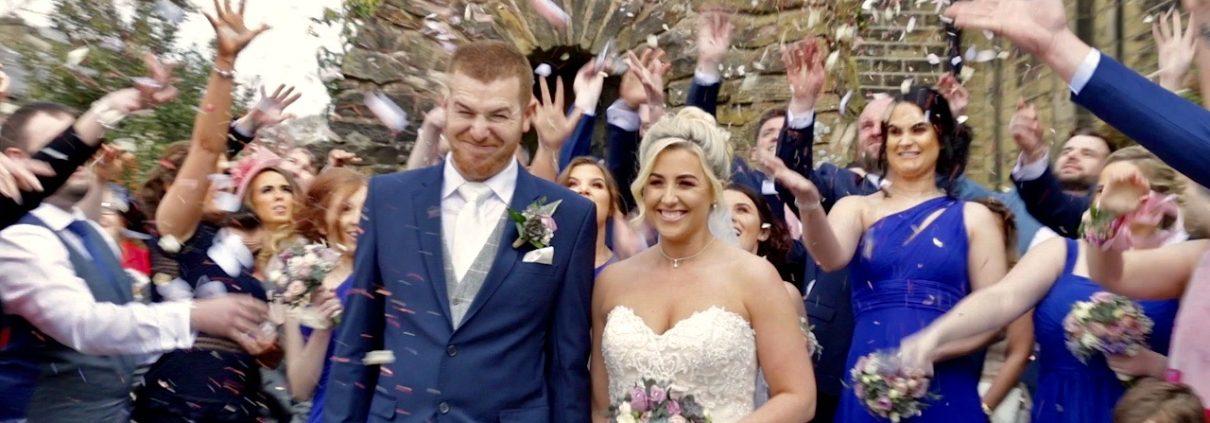 Lancashire wedding videographer