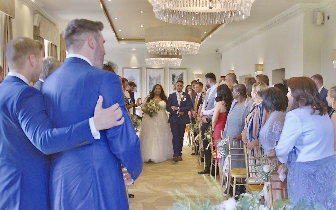 low cost wedding ceremony film