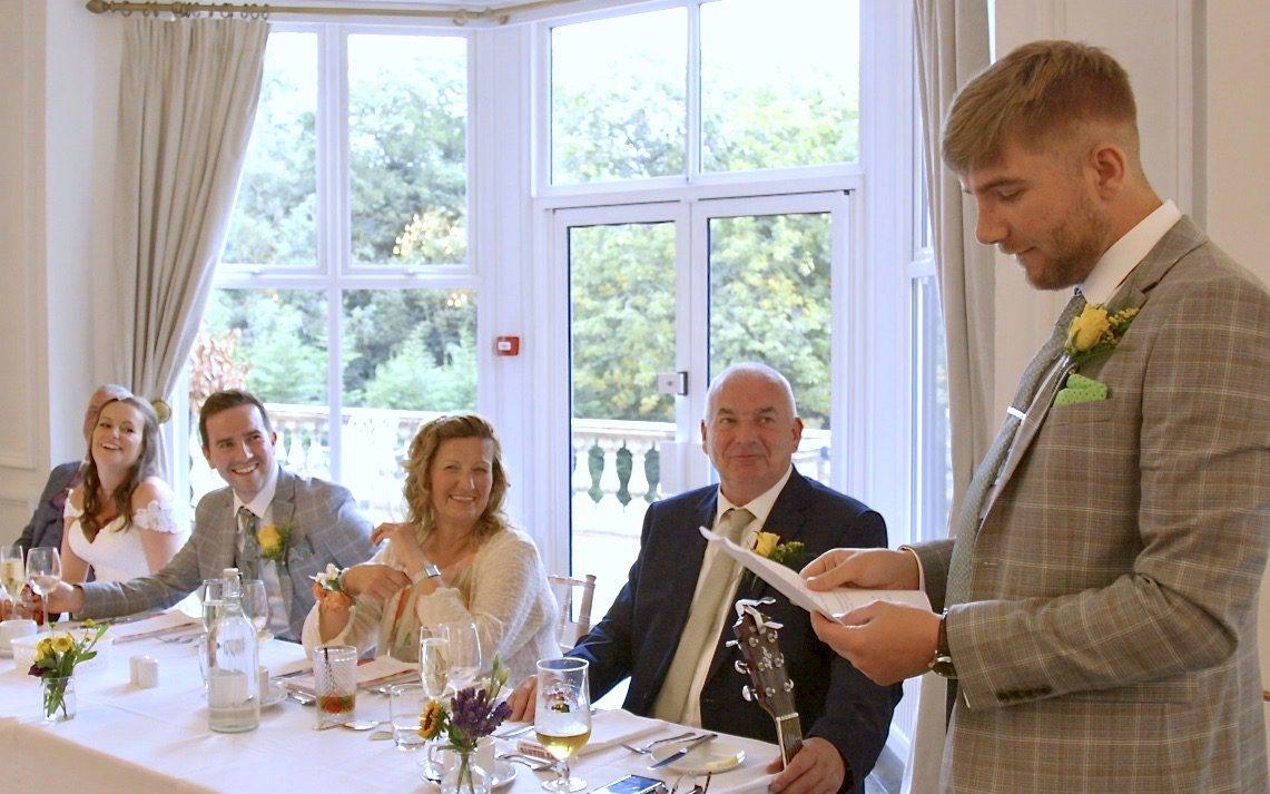 low cost wedding speeches film